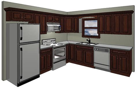 Enthralling Kitchen 10x10 Floor Plans 10 X Layout With