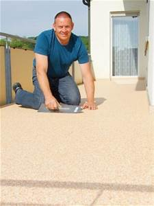 naturstein teppich ideal fur balkon und terrasse zaberbote With balkon teppich mit tapete schimmel entfernen