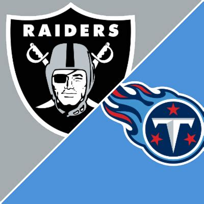 raiders  titans game summary september   espn