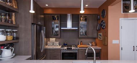 Modern Condo Kitchen In Washington, Dc With Stainless