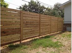 Tips Installing Horizontal Privacy Fence Backyard — Fence
