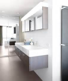 contemporary bathroom vanity ideas modern bathroom with floating sink design in white and gray decoist