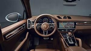 Porsche Cayenne S Coupe 2019 Interior 5K Wallpaper HD