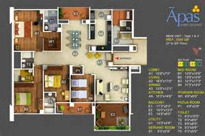 Images Bhk House Plan by 4 Bhk House Plans India House Plans