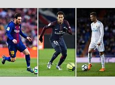 Lionel Messi vs Cristiano Ronaldo Neymar has his say on