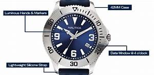Amazon Com  Nautica Men U0026 39 S N12633g Nac 102 Date Box Set