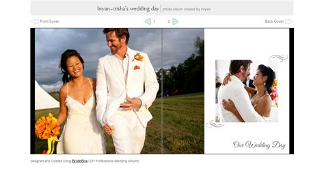 a wedding album what is a flush mount wedding album