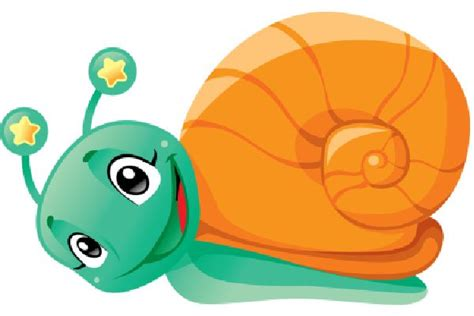 Use These Free Images Of Funny Snails Cartoon Garden
