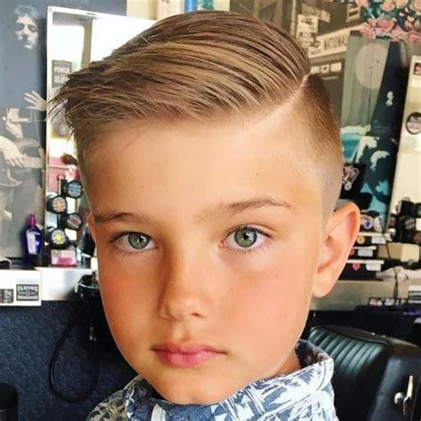 Kid Boy Hairstyles by 25 Cool Boys Haircuts Haircuts For Boys Boys Fade