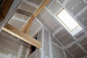 Enduit De Lissage Au Rouleau Pour Plafond : plafond et faux plafond en plaque de pl tre placo ~ Premium-room.com Idées de Décoration