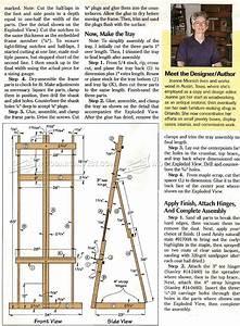 DIY Art Easel • WoodArchivist
