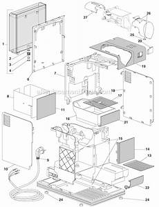 Delonghi En520 S Parts List And Diagram