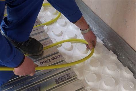 Fußbodenheizung Trockensystem Kosten by Warmwasser Fu 223 Bodenheizung Trocken Nasssystem