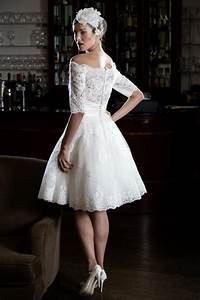 25 of the most beautiful tea length short wedding dresses for 60s style wedding dresses