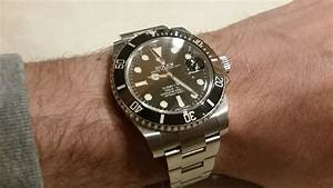 Rolex Submariner Home Restoration  Polish  Scratch Removal