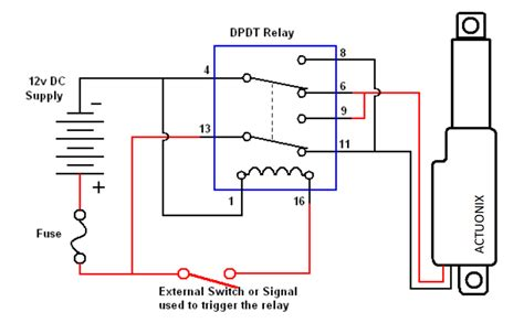 How Use Relays Control Linear Actuators Actuonix
