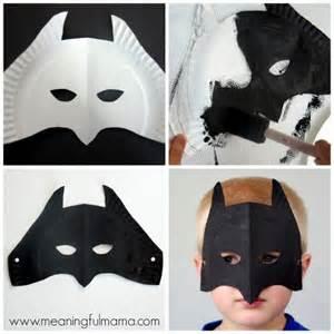 superhero paper plate masks paper plate masks batman