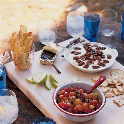 easy canapes to in advance crab dip martha stewart