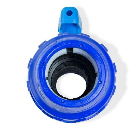 pe rohr 50 mm pe rohr kugelhahn 50 mm kunststoff absperrhahn mit klemmverbinder verschraubung ebay