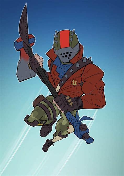 rust lord fortnite skin fortniteskins gameplay