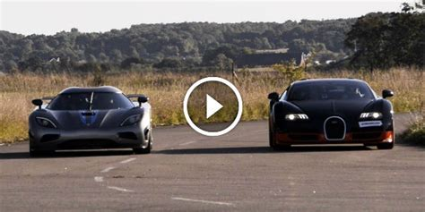 Who Is Actually Faster? Koenigsegg Agera R Vs. 1200 Hp