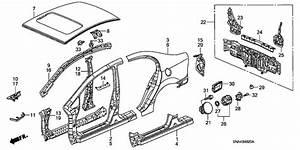 2008 Honda Civic Sedan Si Lid  Fuel Filler -  63910-sna-a00zz