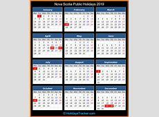 Nova Scotia Canada Public Holidays 2019 – Holidays Tracker