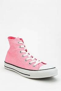 Converse Chuck Taylor All Star Washed PINK Neon High Top