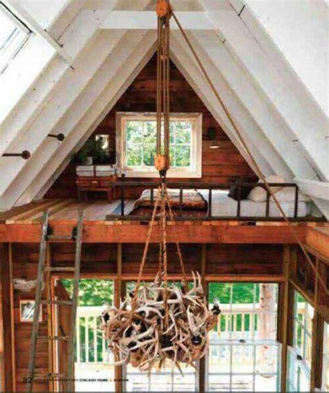 a frame house plans with loft a frame loft cabin plans pinterest