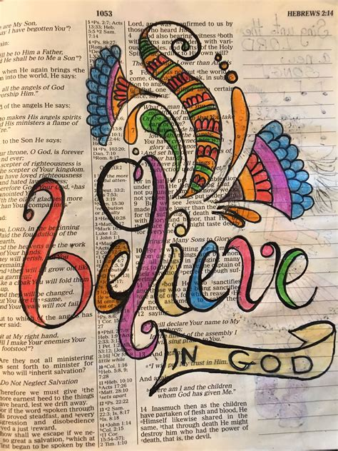 The bible is everything to a christian. Pin on Ronnies bible journaling