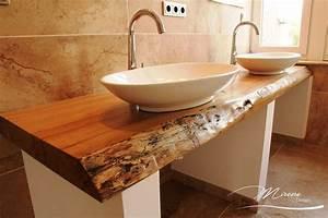 Waschbecken Retro Design : waschtisch echtholz haus dekoration ~ Markanthonyermac.com Haus und Dekorationen