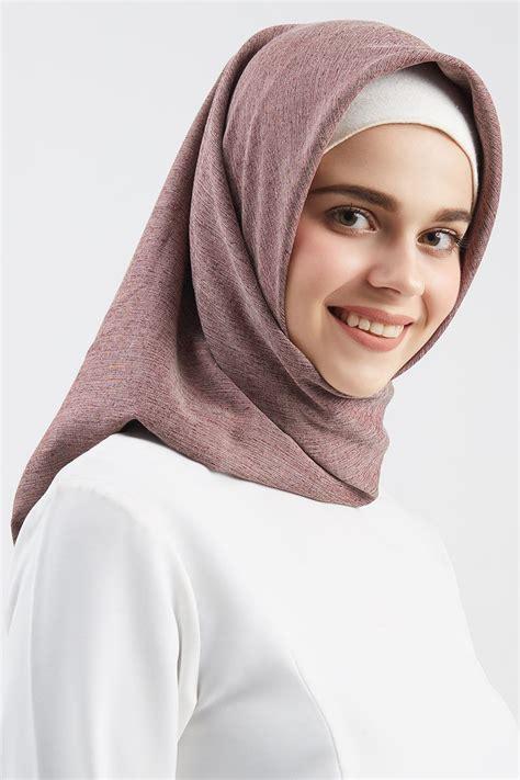 sell katun tyrex square purple square hijab hijabenkacom
