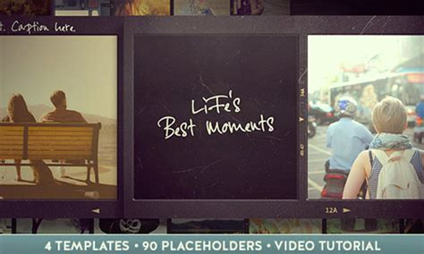 after effects slideshow template 30 vintage style after effects templates naldz graphics