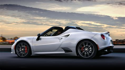 Alfa Romeo 4c Spider 2015 Wallpapers