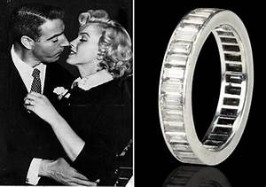 Marilyn monroe39s wedding ring up for auction for Marilyn monroe wedding ring