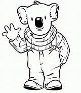 Koala Coloring Pages Printable sketch template