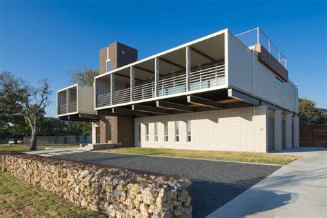 2 floor plans with garage homes built out of shipping containers container house