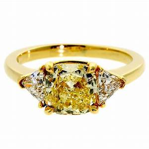 Yellow diamond engagement rings for Wedding rings with yellow diamonds