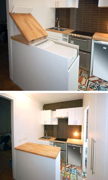 meuble malin pour cacher le lave linge studio d archi le d architecte de nicolas sallavuard