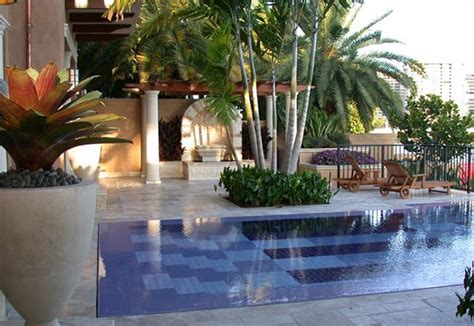 plants for pool area landscaping with trees in 15 outdoor scenes home design lover