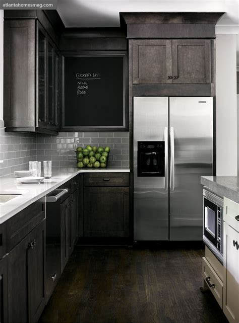 rustic grey kitchen cabinets dark rustic wood through the front door