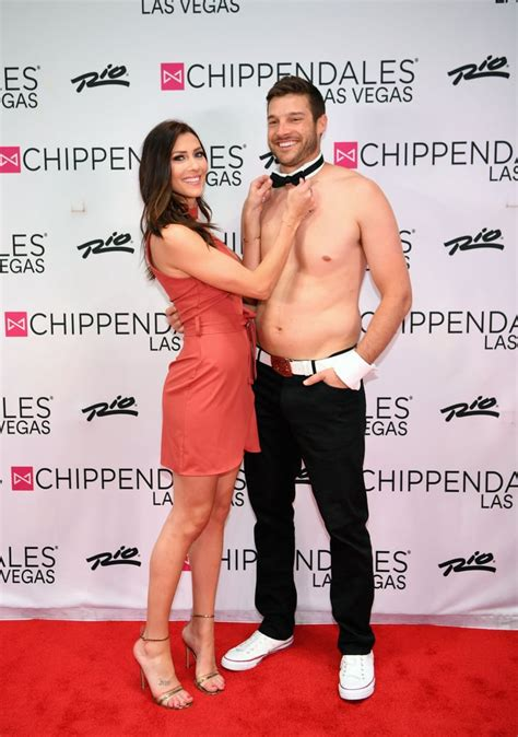 Becca Kufrin and Garrett Yrigoyen at Chippendales March ...
