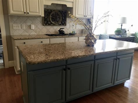 sherwin williams antique white  province blue  cabinet girls