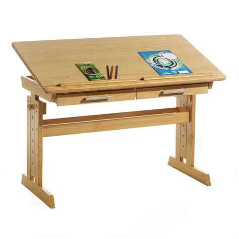 bureau inclinable bureau enfant écolier réglable en hauteur et plateau