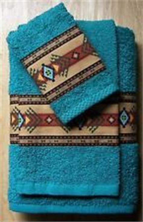 Rustic Bath Towel Sets by 1000 Ideas About Southwestern Style Decor On