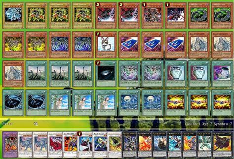 cyber deck list cyberdark deck recipe with blue