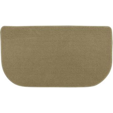 kitchen slice rugs mats essential home big loop slice kitchen floor mat natural shop your way online shopping