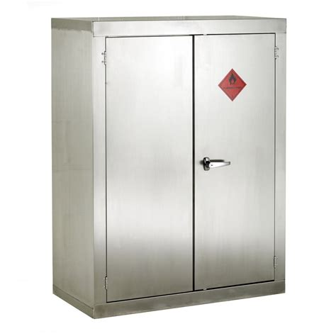 storage cabinets lockers stainless steel flammable storage cabinet 915mmw x 1830mmh