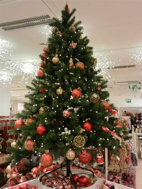 christmas tree in a department store christmas pinterest