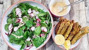 Salat Mit Spinat : spargel tempura mit spinat salat nat rlich lecker ~ Orissabook.com Haus und Dekorationen